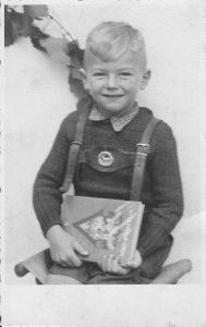 Wolfgang Zimmermann in jungen Jahren