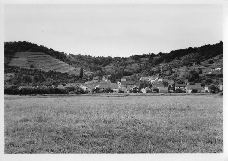 Blick auf den Zeiler Ortsteil Ziegelanger